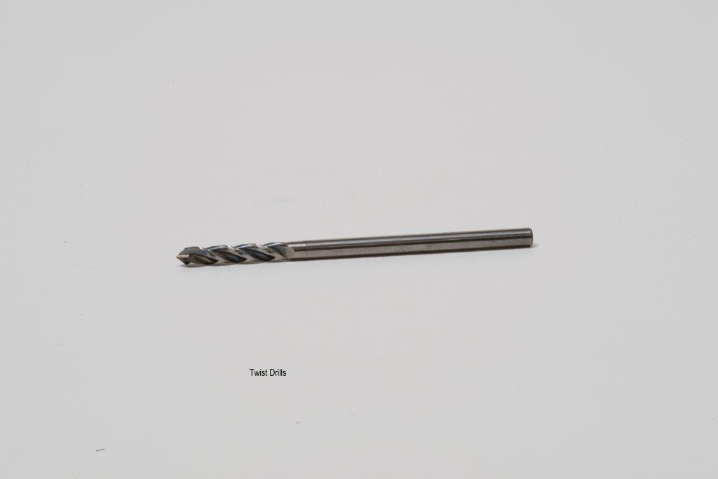 twist micro drill