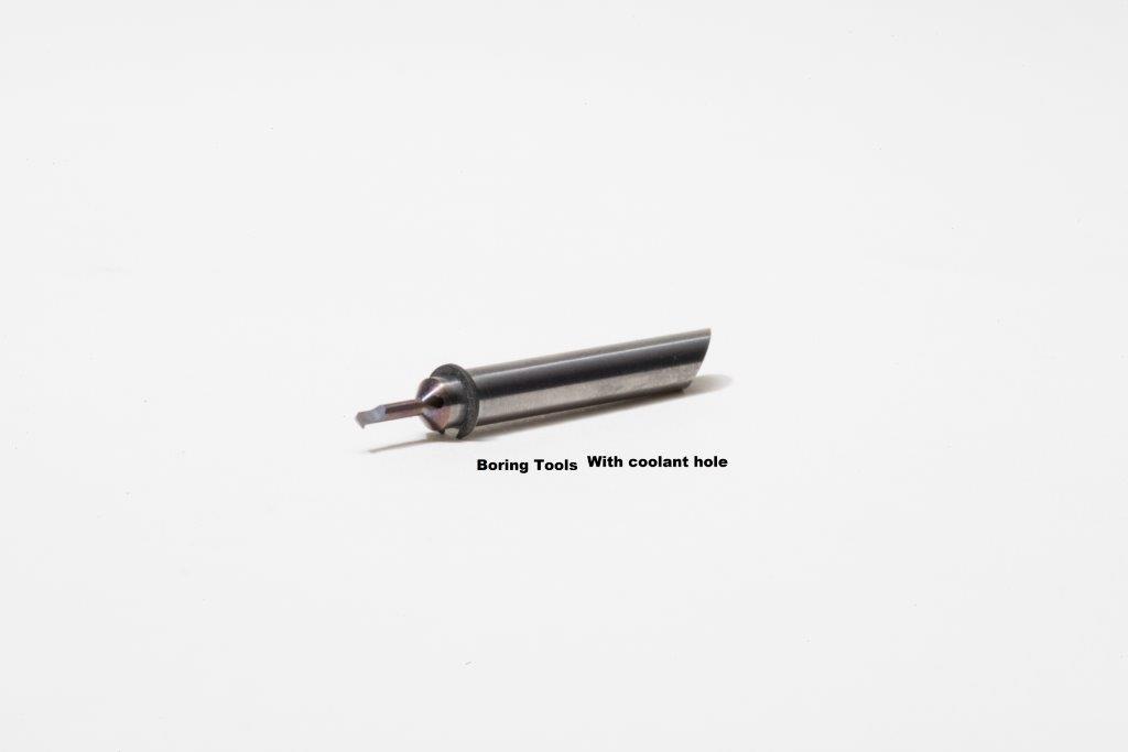 boring tool coolant hole
